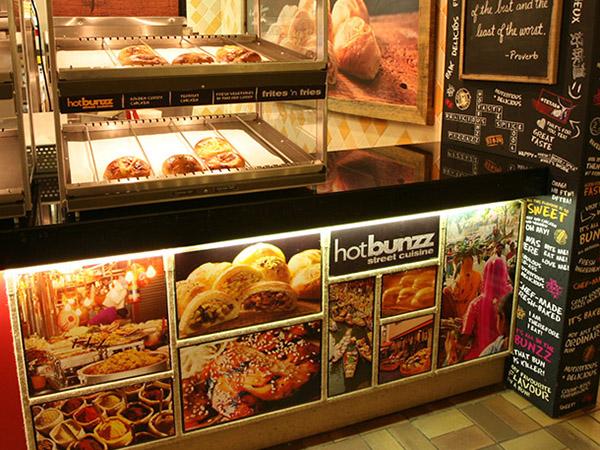Hotbunzz Restaurant Design