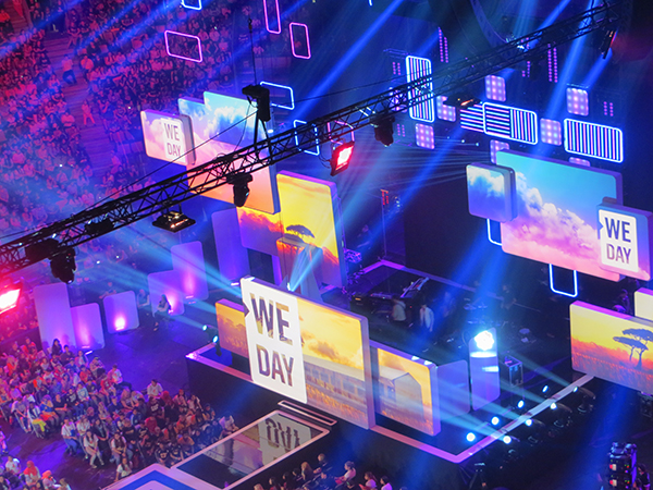 We Day Event Collateral