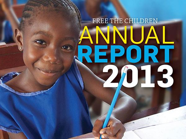 Free The Children Annual Report