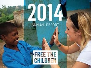 Free The Children Annual Report 2014